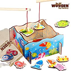 ✔ ENDLESS FUN - The Magnetic Fishing Game is guaranteed to give your children endless hours of imaginative and creative fun. ✔ AMAZING QUALITY - High-quality construction ensures durability to withstand energetic play in a home or school environment....
