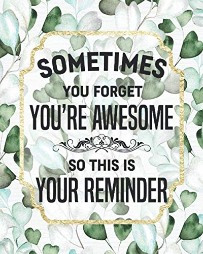 You're Awesome: Thank You Gifts For Mom, Dad, Friend, Boss, Employee,...
