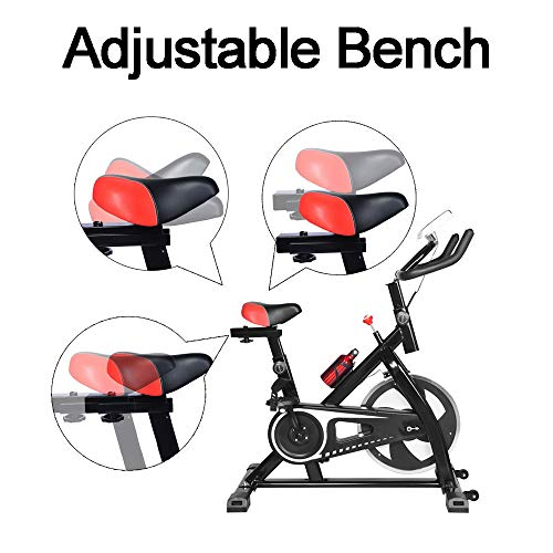 2020 NEW Shan_s Spinning Bicycle/Stationary Bike, Belt Drive Indoor Ultra-quiet Exercise Fitness Bicycle Equipment 7
