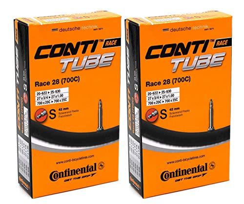Continental Unisex\'s 181781 Schlauch, schwarz, 20/25-622/630