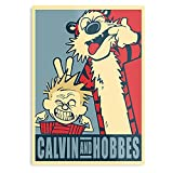 Calvi Silly Bill & Calvin Hobbes Rikha Waterson Comic