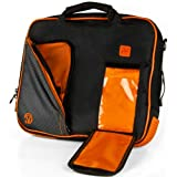 VanGoddy Titan Orange Messenger Bag for Dell Inspiron 11.6' Laptop/ChromeBook