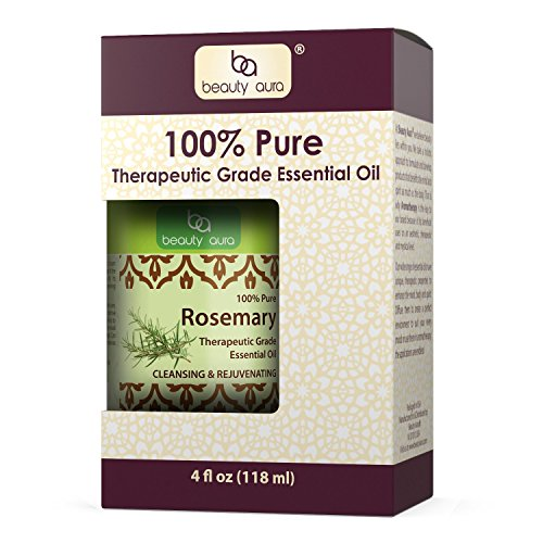 Beauty Aura 100% pure Rosemary Essential oil * 4