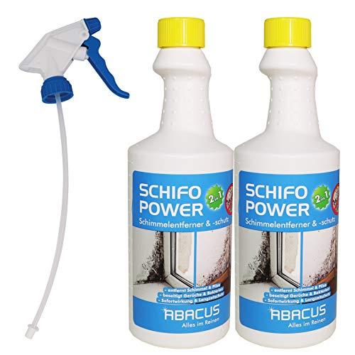 2x 750 ml Schifo Power Schimmelspray/Schimmelentferner/Schimmelschutz (7371)
