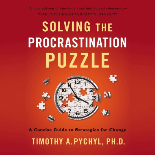 Solving the Procrastination Puzzle audiobook cover art