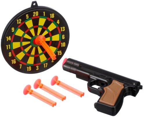 Toys of Fun Pistole m.Dartscheibe,2-f.s.,190x250