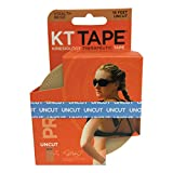 KT Tape Pro Synthetic Kinesiology Therapeutic Sports Tape, 16 Ft Uncut Roll, Stealth Beige