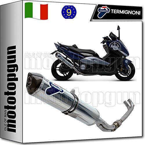TERMIGNONI SCARICO COMPLETO HOM RELEVANCE INOX CC TMAX T-MAX 500 2008 08 Y097080IV