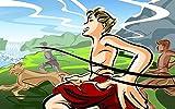 FFGHH Puzzles 300 Piezas De Genuine Puzzles Competencia De Sprint Adultos Y Niños Colección 42 * 28Cm