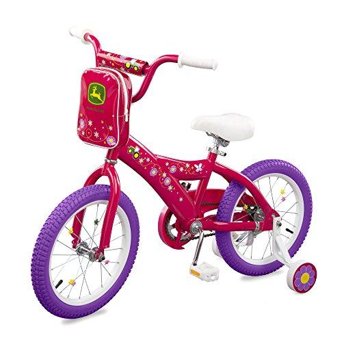 John Deere 16 Inch Bike - Pink