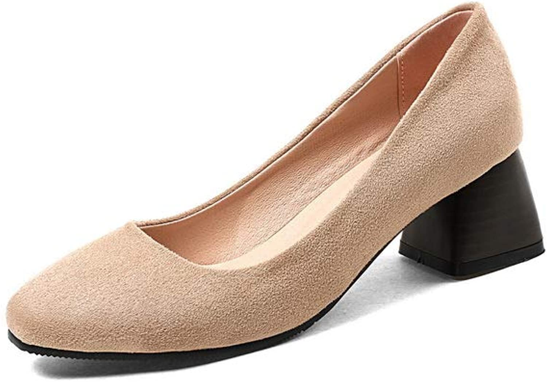 BalaMasa Womens Comfort Solid Glitter Travel Urethane Pumps shoes APL10448