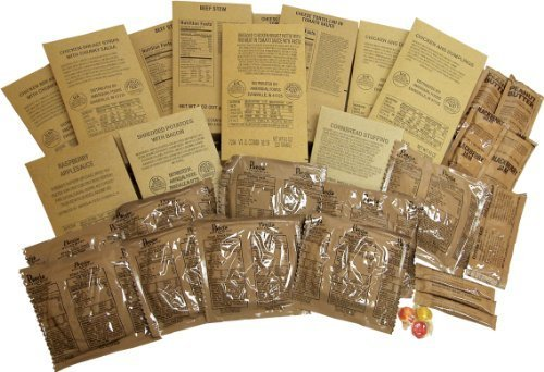 3 Day MRE Food Supply by Varies