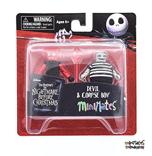 Minimates Nightmare Before Christmas Series 4 Devil & Corpse Boy 2-Pack