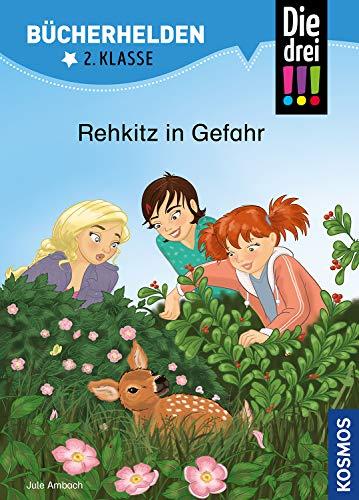 Die drei !!!, Bücherhelden 2. Klasse, Rehkitz in Gefahr