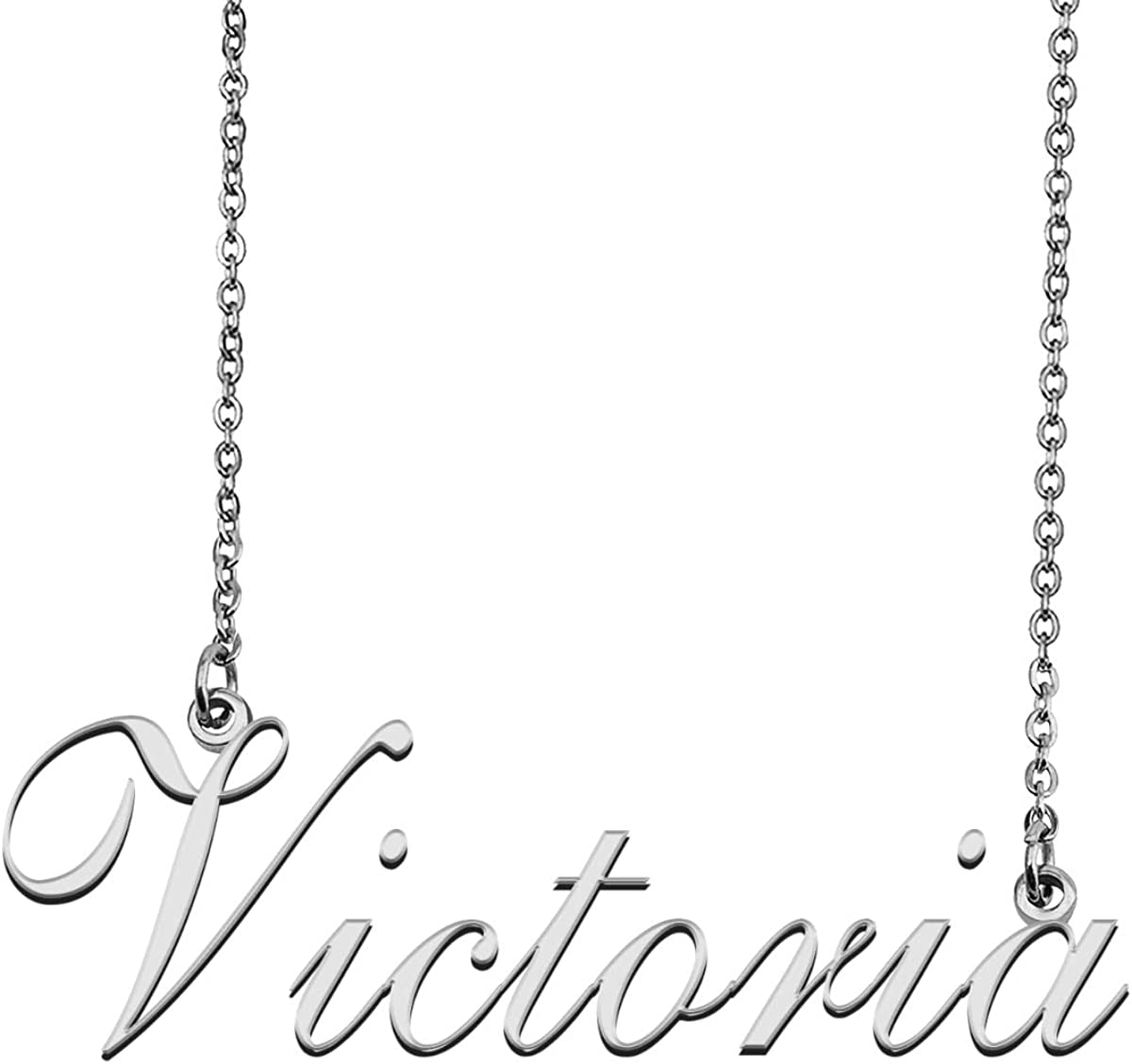 GR35Z9 Custom Customize Personalized Name Necklace for Womens