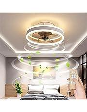 Plafondventilator Met Verlichting Afstandsbediening Rustige Moderne LED Met Lichte Woonkamer Ventilator Plafondlamp Ventilator Licht Voor Woonkamer Slaapkamer Kinderkamer Eetkamer