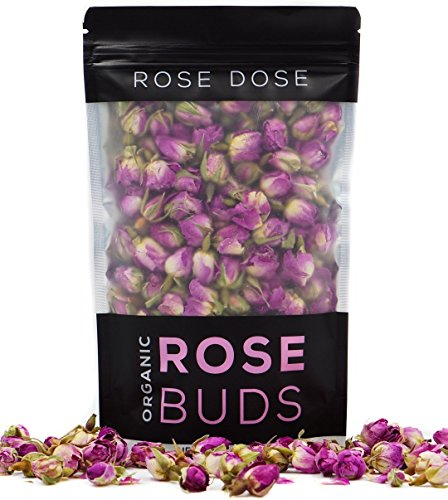 Rose Dose, Rose Buds (2 oz) Culinary Grade (Infusions, Garnishes, Teas, Crafts)