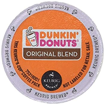 Dunkin Donuts Original Flavor Coffee K-Cups For Keurig K Cup Brewers  48 Count