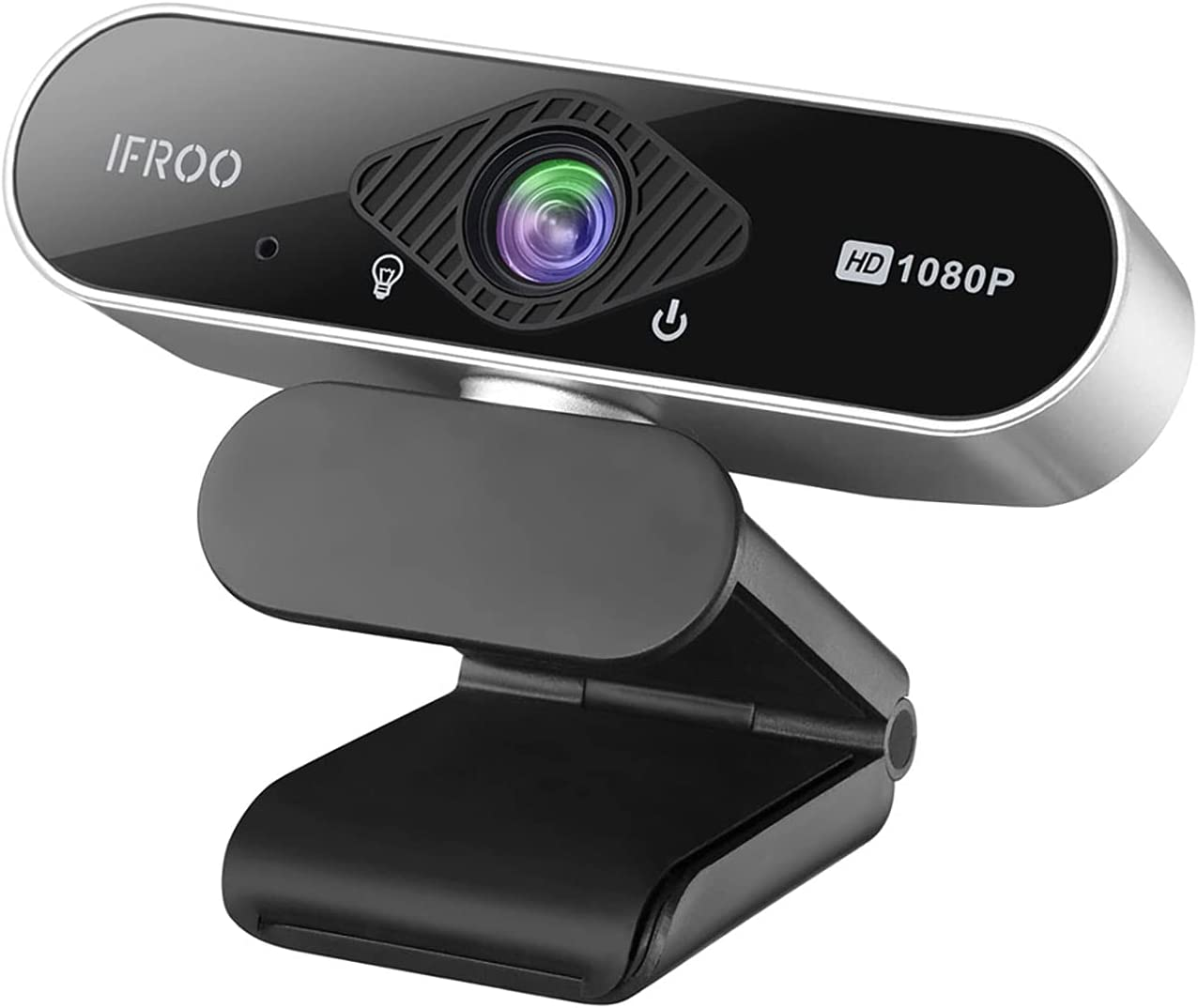 IFROO FHD 1080P Webcam with fisheye Microphone for Boston Mall Wide-Angle No Year-end annual account