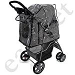 Easipet Rain Cover Pet Stroller 16