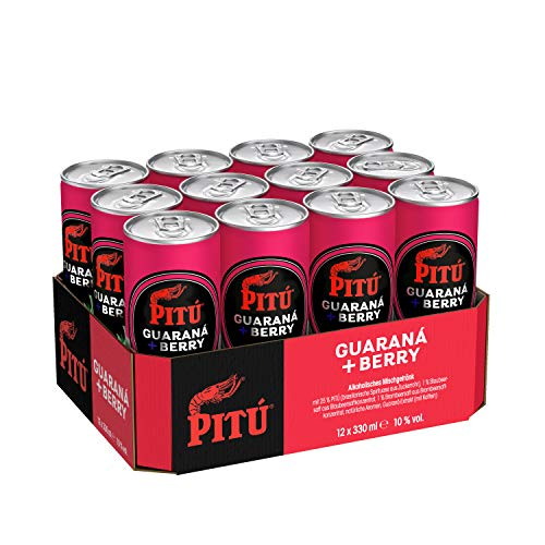 Pitu Guaraná & Berry (12 x 0.33 l)
