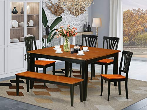10 Best Dining Tables With Bench For Dining Room Reviews In 2021