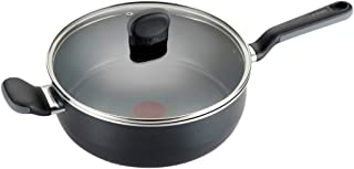 T-fal C4118274 Endura Copper 陶瓷不粘锅洗碗机*炊具 大号锅具 黑色 4.2 quart 2100088754