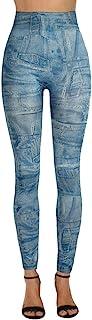 ZEZKT Skinny Vaqueros Mujer, Alta Elasticidad Mezclilla Pantalones Moda Cintura Alta Push Up PantalóN OtoñO E Invierno Nue...