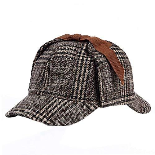 Sherlock Holmes Detective Hat Cosplay Zubehör Berets Männer Frauen Zwei Brims Beret Deerstalker
