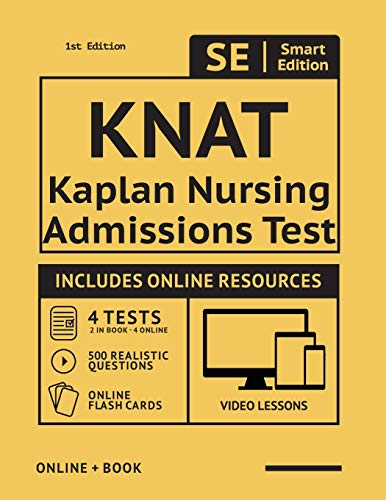 KNAT Full Study Guide: Study Manual with 4 Full Length Practice Tests, 500 Realistic Questions, Onli