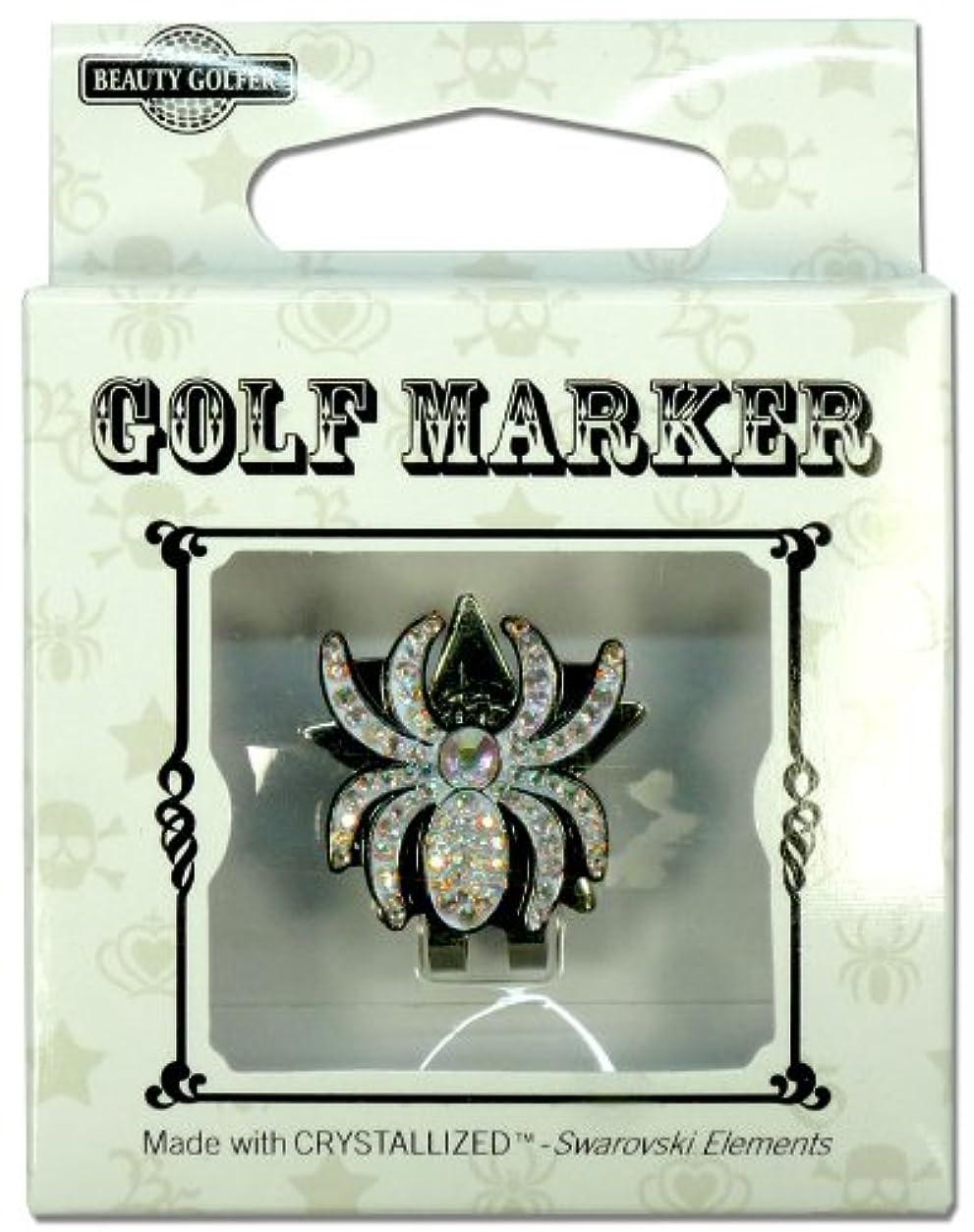 コテージスピーカー名前を作るゴルフ マーカー BG-14 クモ