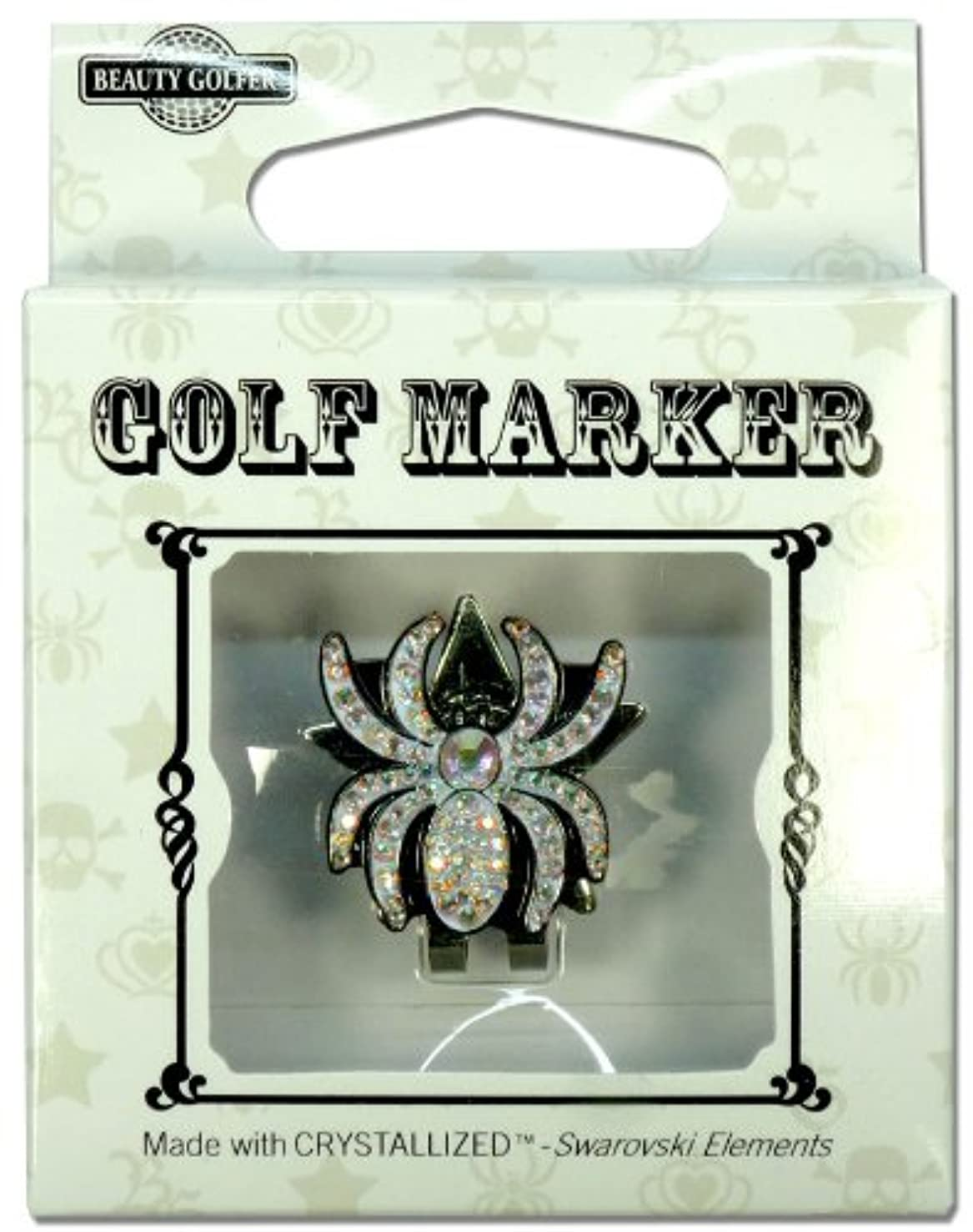 バッジ縫う応用ゴルフ マーカー BG-14 クモ