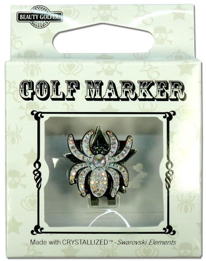 クロスマウントバンク逃げるゴルフ マーカー BG-14 クモ
