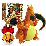 Figura De Juguete De Pokemon Pikachu Charizard Gyarados Blastoise, Bola De Elfo De Bolsillo, Robot De Deformación Manual, Juego De Bebé Elfo, Película Y TV