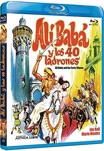 Ali Baba et les 40 voleurs / Ali Baba and the Forty Thieves (1944) ( Ali Baba & the 40 Thieves ) [ Origine Espagnole, Sans Langue Francaise ] (Blu-Ray)