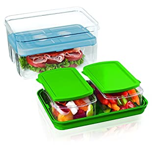 Fit & Fresh Lunch on the Go Set, STD, Green (B000FNCS5M) | Amazon price tracker / tracking, Amazon price history charts, Amazon price watches, Amazon price drop alerts