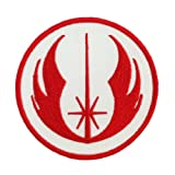 Star Wars Jedi Logo Embroidered Iron Patches