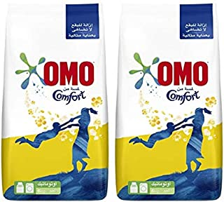 OMO Active Auto Laundry Detergent Powder with Comfort, 2 x 6 Kgs