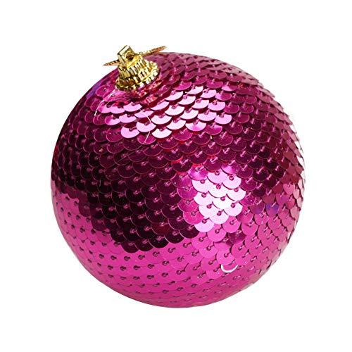 tulipit Ornamenti per Palle di Natale in Scala Pendente per Albero di Natale per Decorazioni per Feste di Nozze Adatto per Negozio Famiglia KTV Bar Classic