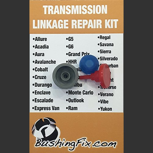 BushingFix IM1KIT1 - Replacement Automatic Transmission Shift Cable Bushing and Repair Kit