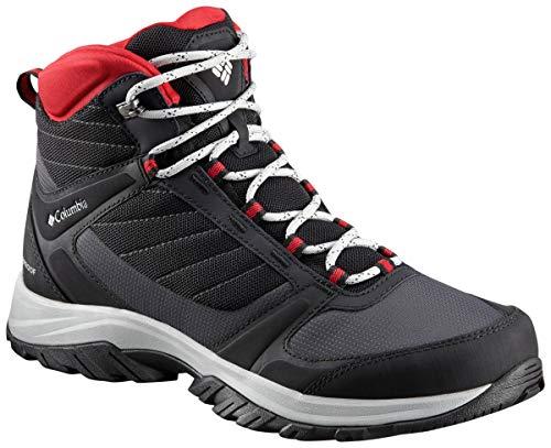Columbia Homme Chaussures de Randonnée, Imperméable, TERREBONNE II SPORT MID OMNI-TECH, Taille 50, Noir (Black, White)