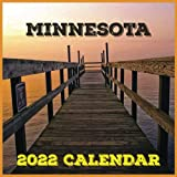 Minnesota Calendar 2022: Daily, Weekly and Monthly Planner | Minnesota 2021-2022 Planner | Minnesota Calendar and Organizer | small calendar