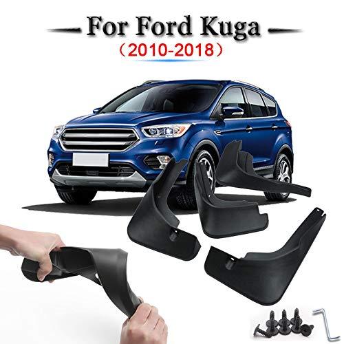 Preisvergleich Produktbild SLONGK 4 Teile / Satz Auto Schmutzfänger Spritzschutz Schmutzfänger,  Für Ford Kuga 2010-2018