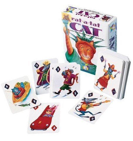 WE-R-KIDS Game / Play Rat-A-Tat-Cat. Card, Strategy, Memory, Educational, Learning, Toys, Game, Cardboard, Teach Toy / Child / Kid