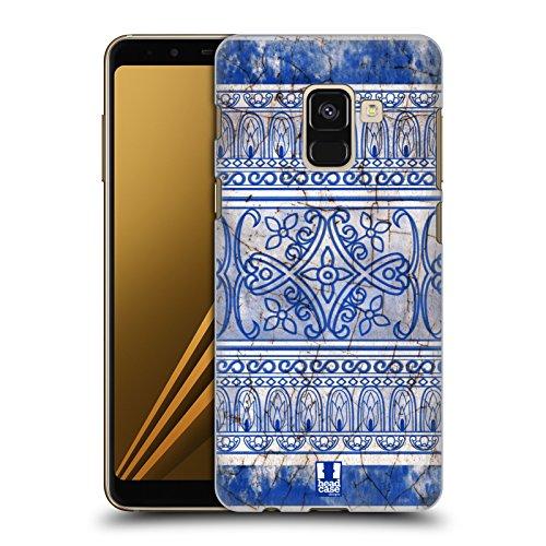 Head Case Designs Antikes Porzellan Chinesische Vase Muster Harte Rueckseiten Huelle kompatibel mit Samsung Galaxy A8 Plus (2018)