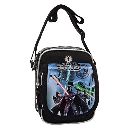 Star Wars Mochila Saco, Color Negro, 1.2 litros