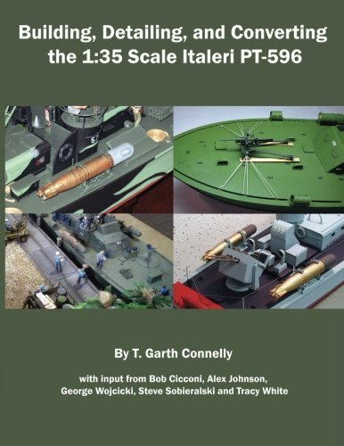 Building, Detailing and Converting the 1:35 Scale Italeri PT-596 by T. Garth...