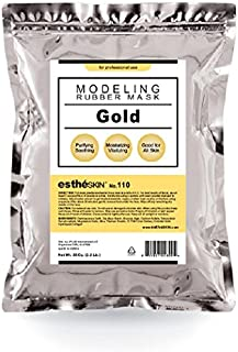 estheSKIN No.110 Gold Modeling Mask Powder for Professional Facial Treatment, 35 Oz. (1 pack)