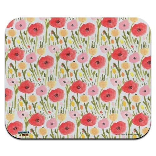 Preisvergleich Produktbild Mausmatte,  wilder Garten der Blumen Muster Low Profile dünne Mauspad Mousepad,  Gaming Mouse Pad