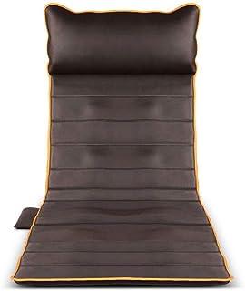 LKNJLL Memory Foam masaje estera con calor, 9 Terapia del cojín de calefacción, 10 de vibración motores de masaje almohadilla del colchón, masaje de cuerpo completo del amortiguador aliviar el cuello,